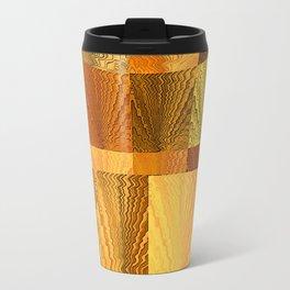 Abstract Digital Artwork Golden State Travel Mug