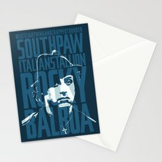 Rocky Balboa Minimal Vector Film Poster Stationery Cards