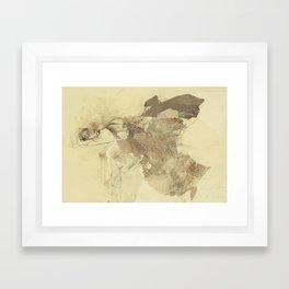 Hommage à Degas VIII Framed Art Print