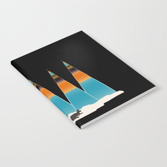 Sleepy Fox Notebook