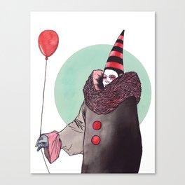 The Balloon Man Canvas Print