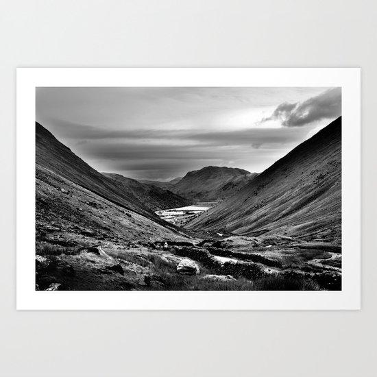 Lake District, England. Art Print