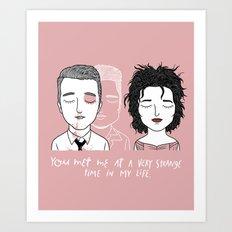 T & M Art Print