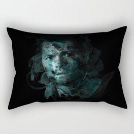 Splatter Castiel Rectangular Pillow