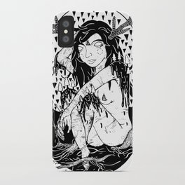 tree lady iPhone Case