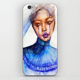Lady Crying iPhone Skin
