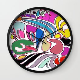 Free-Flo Wall Clock