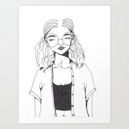 Fondly Art Print