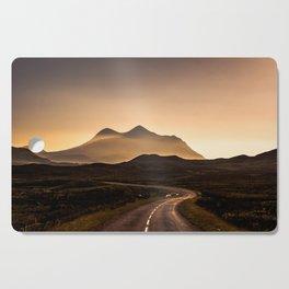 Sunset Mountain Road Cutting Board
