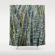 Snake Plants II Shower Curtain