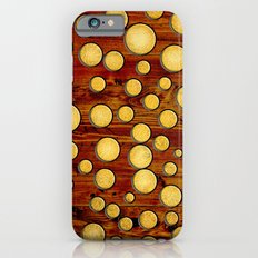 Wood and gold Slim Case iPhone 6s