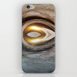 Lighted Water Tunnel Abstract iPhone Skin