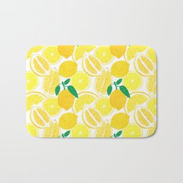 Lemon Harvest Bath Mat
