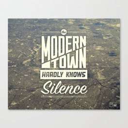 The Modern Town Canvas Print