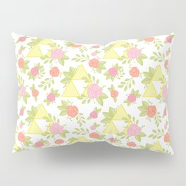 Garden of Power, Wisdom, and Courage Pattern Pillow Sham
