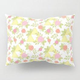 Garden of Power, Wisdom, and Courage Pattern Pillow Sham