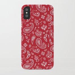 Rouge Bandana iPhone Case