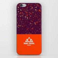 Trail Status / Orange iPhone & iPod Skin