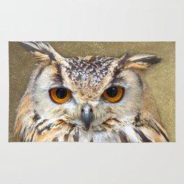 Indian Eagle Owl Rug