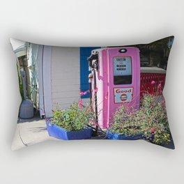 On a Street in Boca Grande Rectangular Pillow