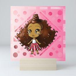 African American Girl Mini Art Print