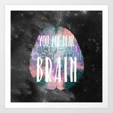 Beautiful Brain Art Print