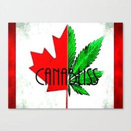 CannaBliss Canvas Print
