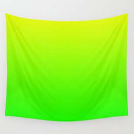 Neon Yellow/Green Ombre Wall Tapestry