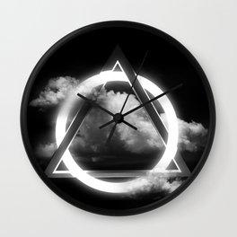 Sacred Geometry - Trinity  06 Wall Clock