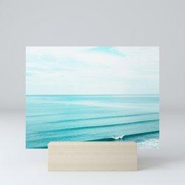 Minimal Beach Mini Art Print