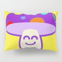 Shroomie - The friendly Magic Mushroom Pillow Sham
