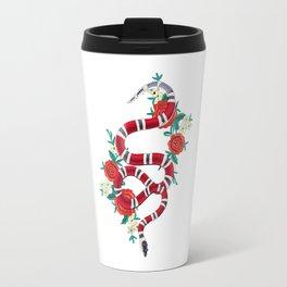 guuci snake flower Travel Mug