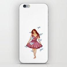 On A Breeze iPhone & iPod Skin