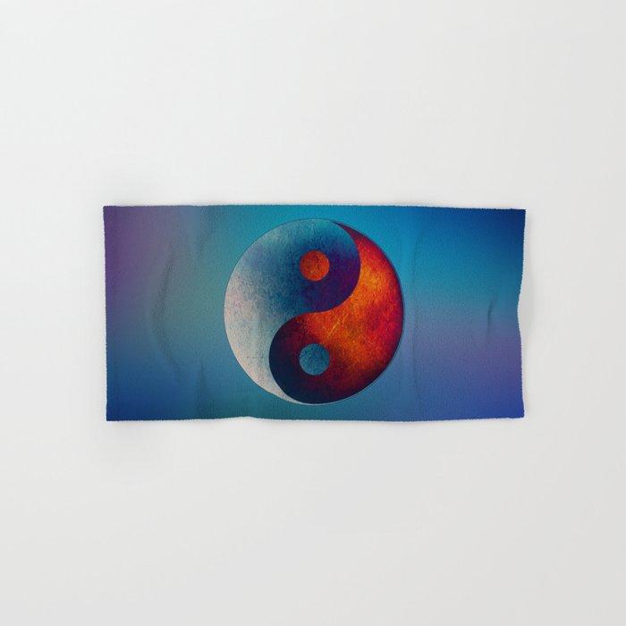 Yin Yang Symbol Hand & Bath Towel