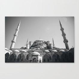 The Blue Mosque Canvas Print