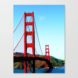The Golden Canvas Print