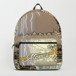 Atomic Vacation at Desert Rock Backpack