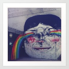 Making Rainbows Art Print