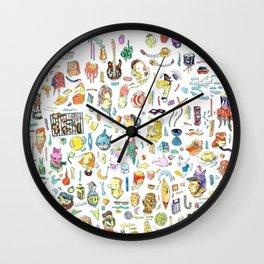 Maximal drawing Wall Clock