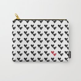 HEARTS ALL OVER PATTERN VI Carry-All Pouch