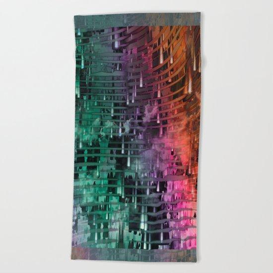 Spatial Factor 101 / Texture 30-10-16 Beach Towel