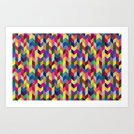 Geometric Pattern #1 Art Print