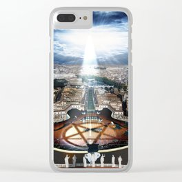 Vatican Rocking View Clear iPhone Case