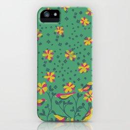 Bird Field iPhone Case