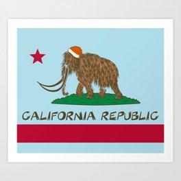 California Republic Mammoth Art Print
