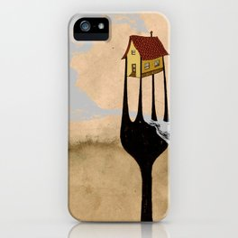 - fork home - iPhone Case