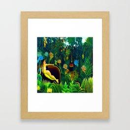 Henri Rousseau The Dream Framed Art Print