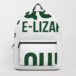 Queen Elizardbeth Backpack
