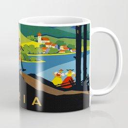 Austria - Vintage Travel Ad Coffee Mug