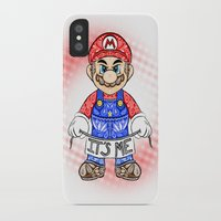 mario kart iPhone & iPod Cases featuring It's ME, Mario !  by Art & Be